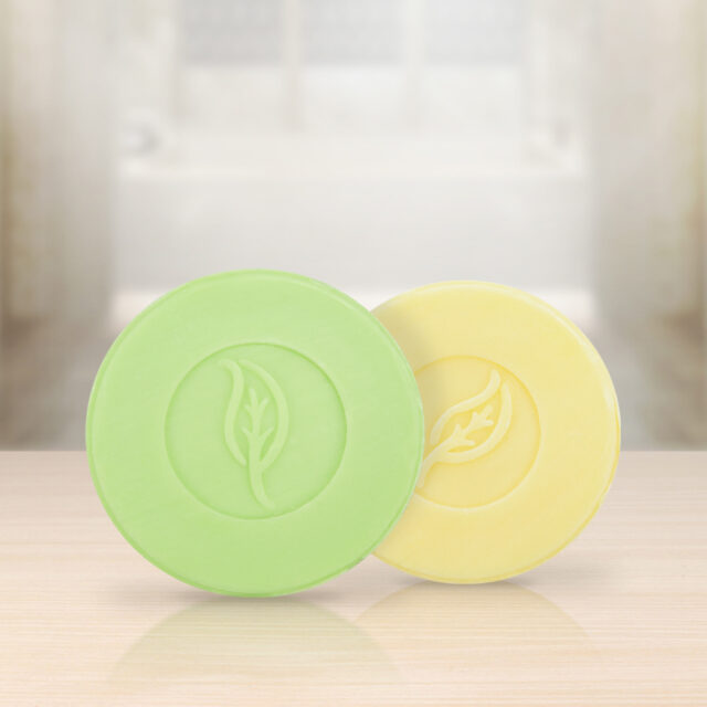 Neutral soaps complement every line of amenities we carry