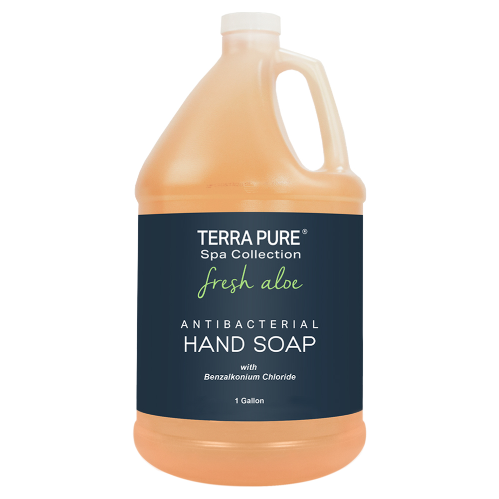 Terra Pure Spa Collection Fresh Aloe Antibacterial Hand Soap (Gallon(