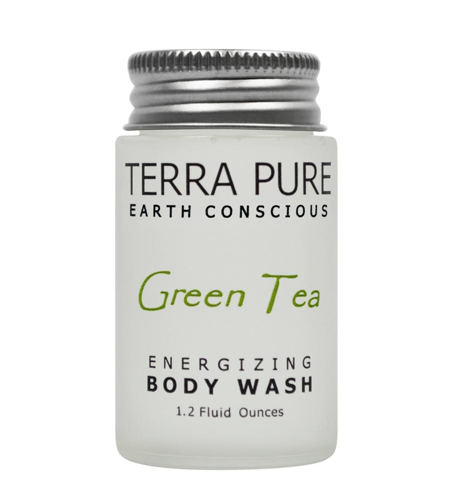 Terra Pure Green Tea Body Wash (1.2oz)