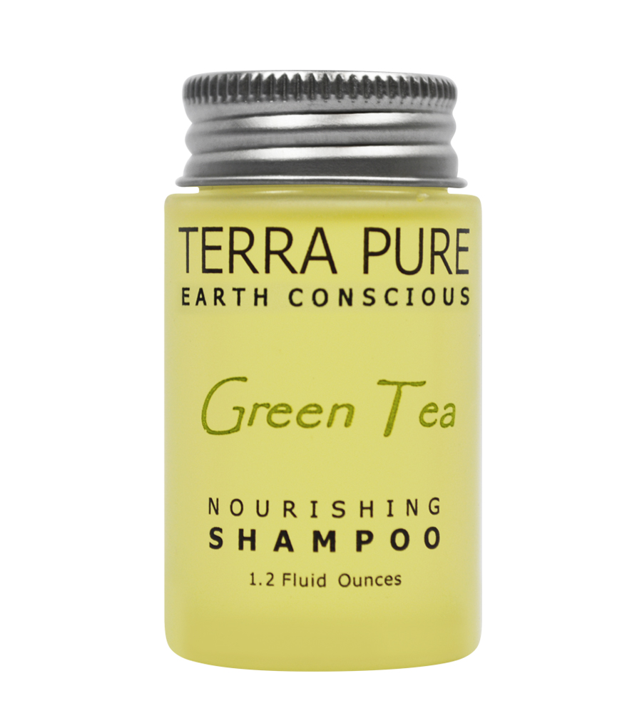 Terra Pure Green Tea Shampoo (1.2oz)