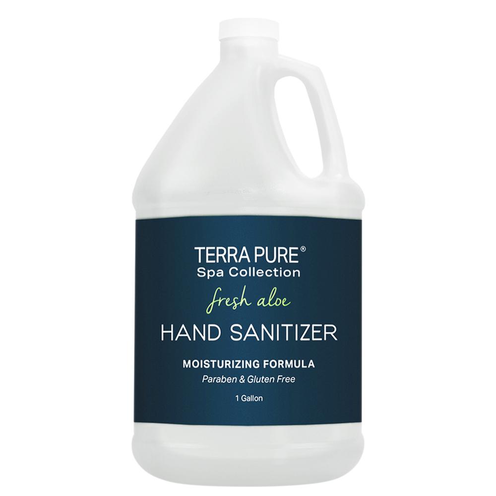 Terra Pure Spa Collection Fresh Aloe Hand Sanitizer Gallon