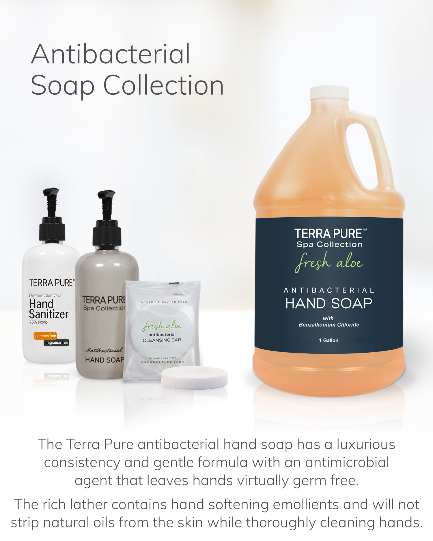 Terra Pure Antibacterial Soap Collection