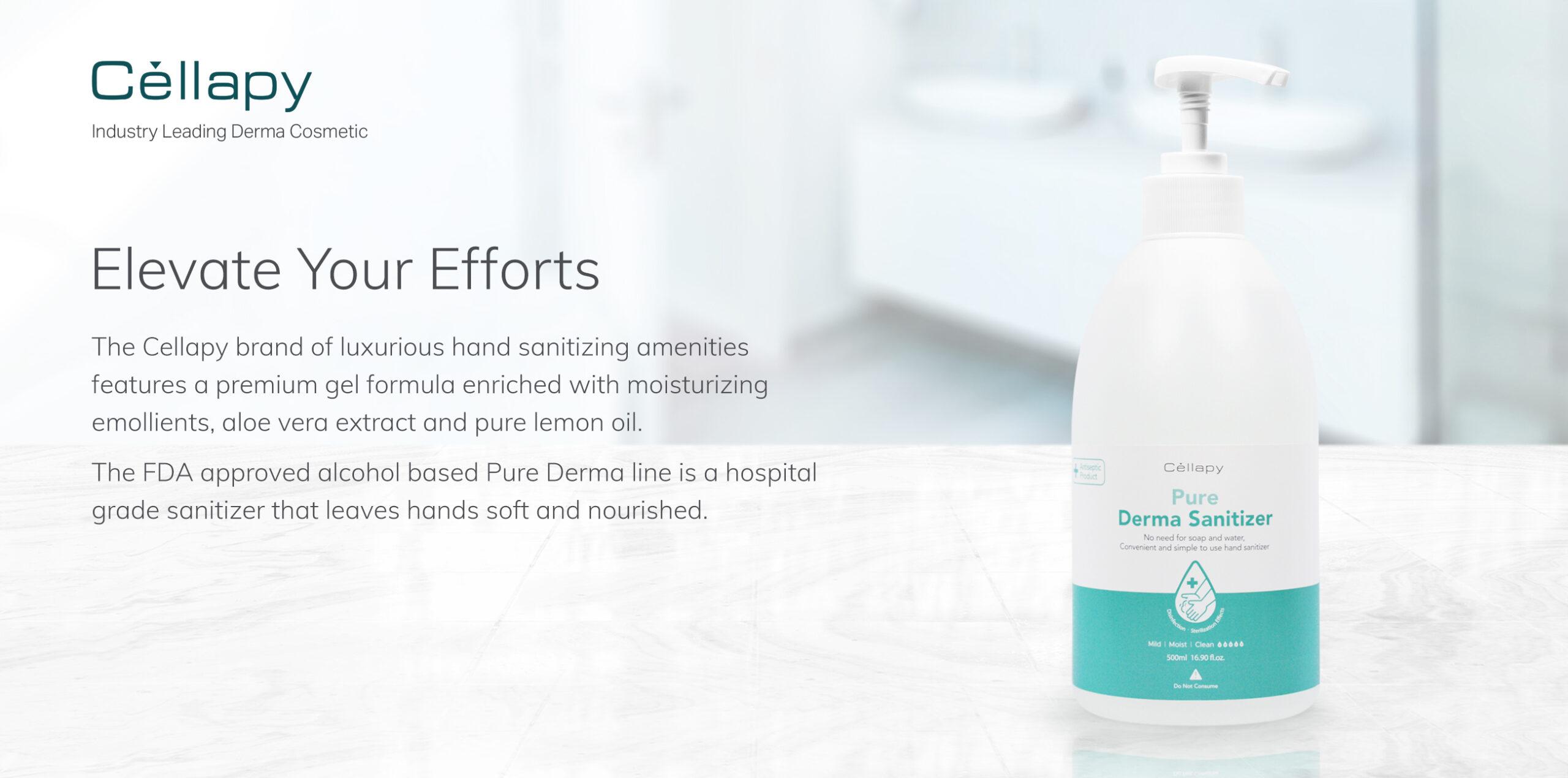 Cellapy Derma Sanitizer (500ml)