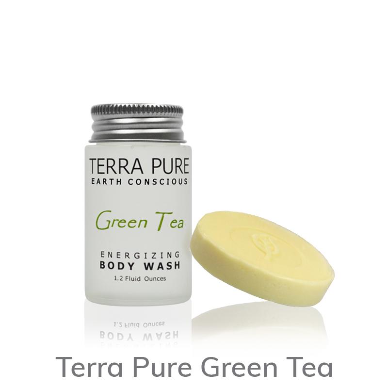 Terra Pure Green Tea Body Wash and Soap