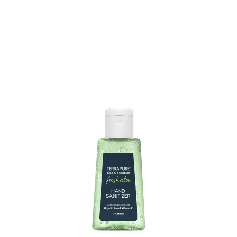Terra Pure Spa Collection Fresh Aloe Hand Sanitizers (50ml)