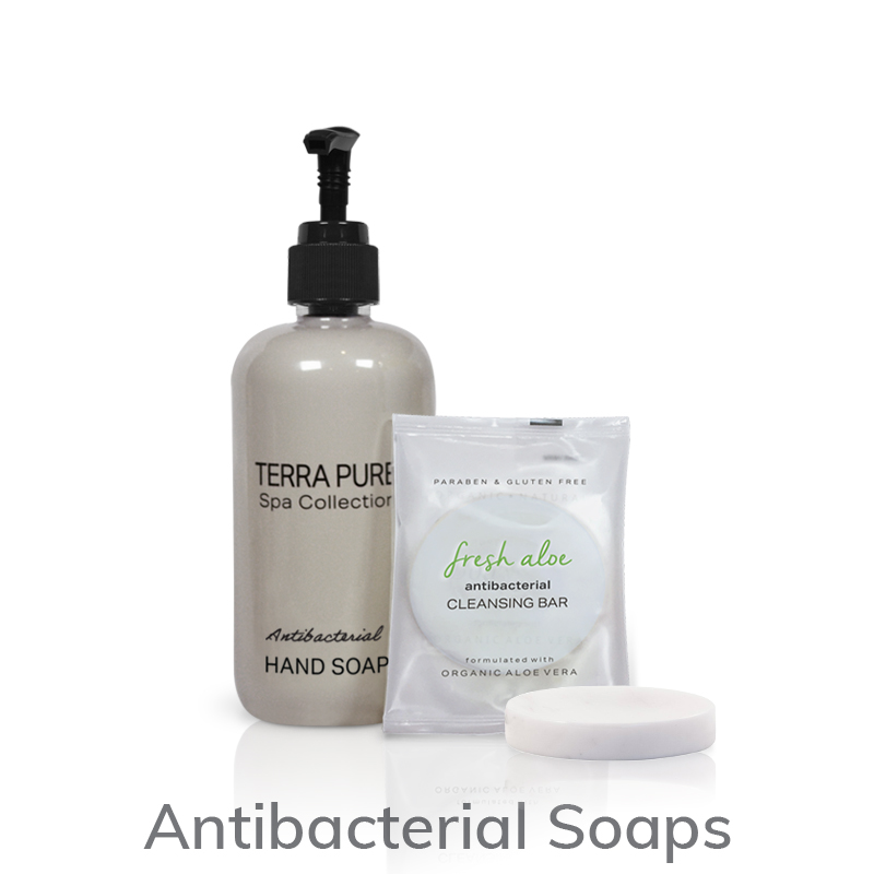 Terra Pure Spa Collection Antibacterial Soaps