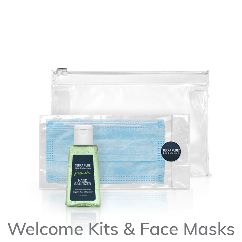PPE Welcome Kit (Hand Sanitizer and Face Mask)