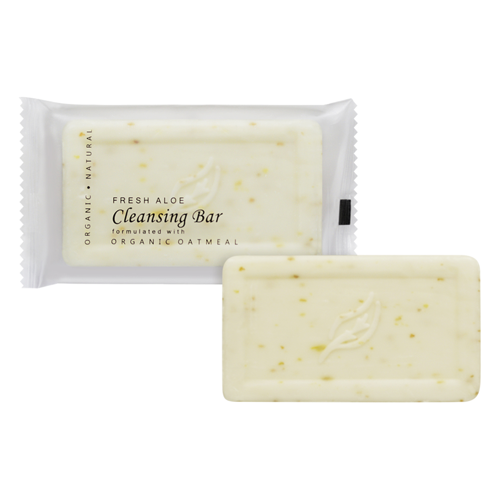 Oatmeal Cleansing Bar - 35g Sachet (Front and contents)