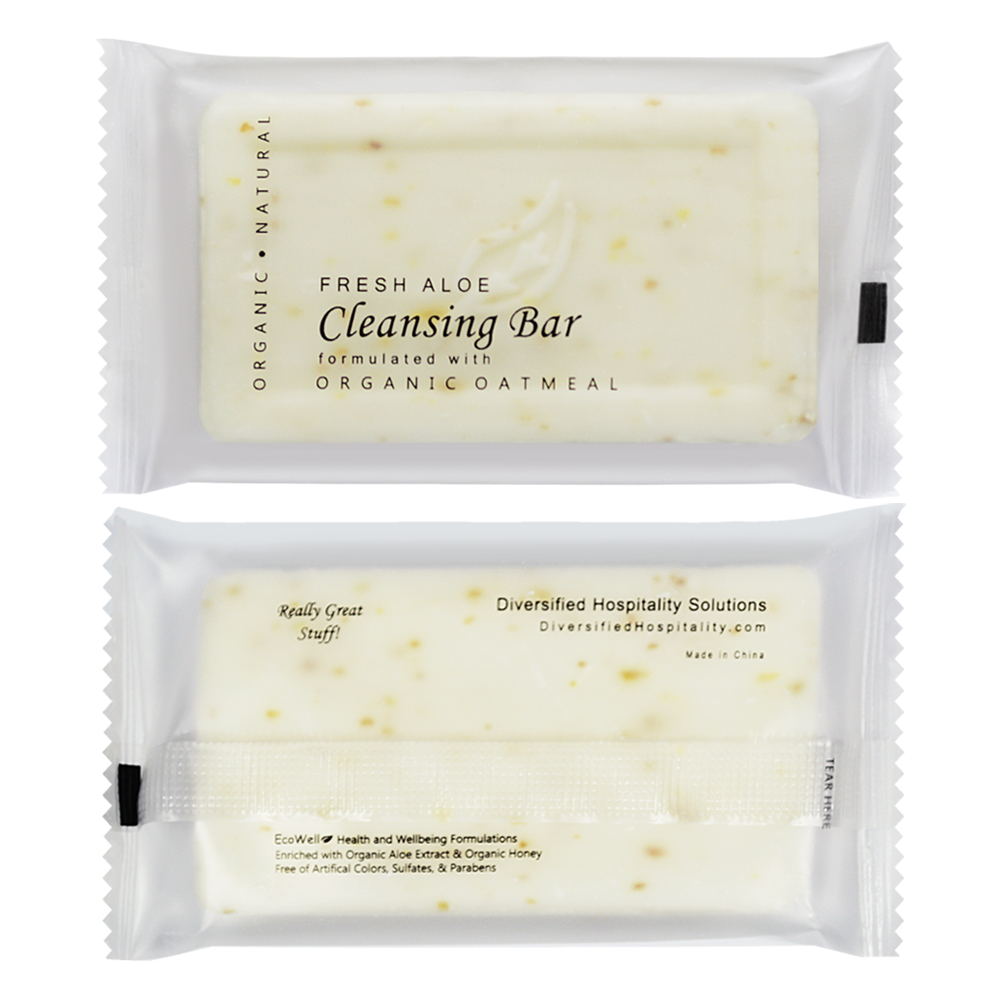 Oatmeal Cleansing Bar - 35g Sachet (Front and Back)