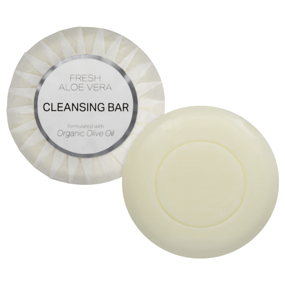 Aloe Therapy Cleansing Bar - 35G Tissue Pleate (Front and Contents)