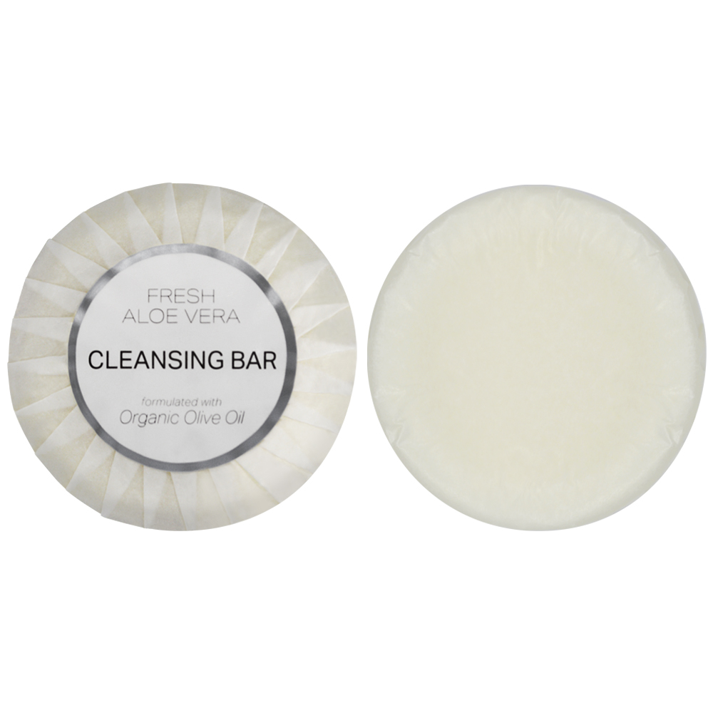 Aloe Therapy Cleansing Bar - 35G Tissue Pleate (Front and Back)
