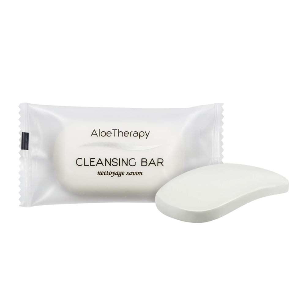 Aloe Vera Cleansing Bar - 20g Sachet (Front and Contents)