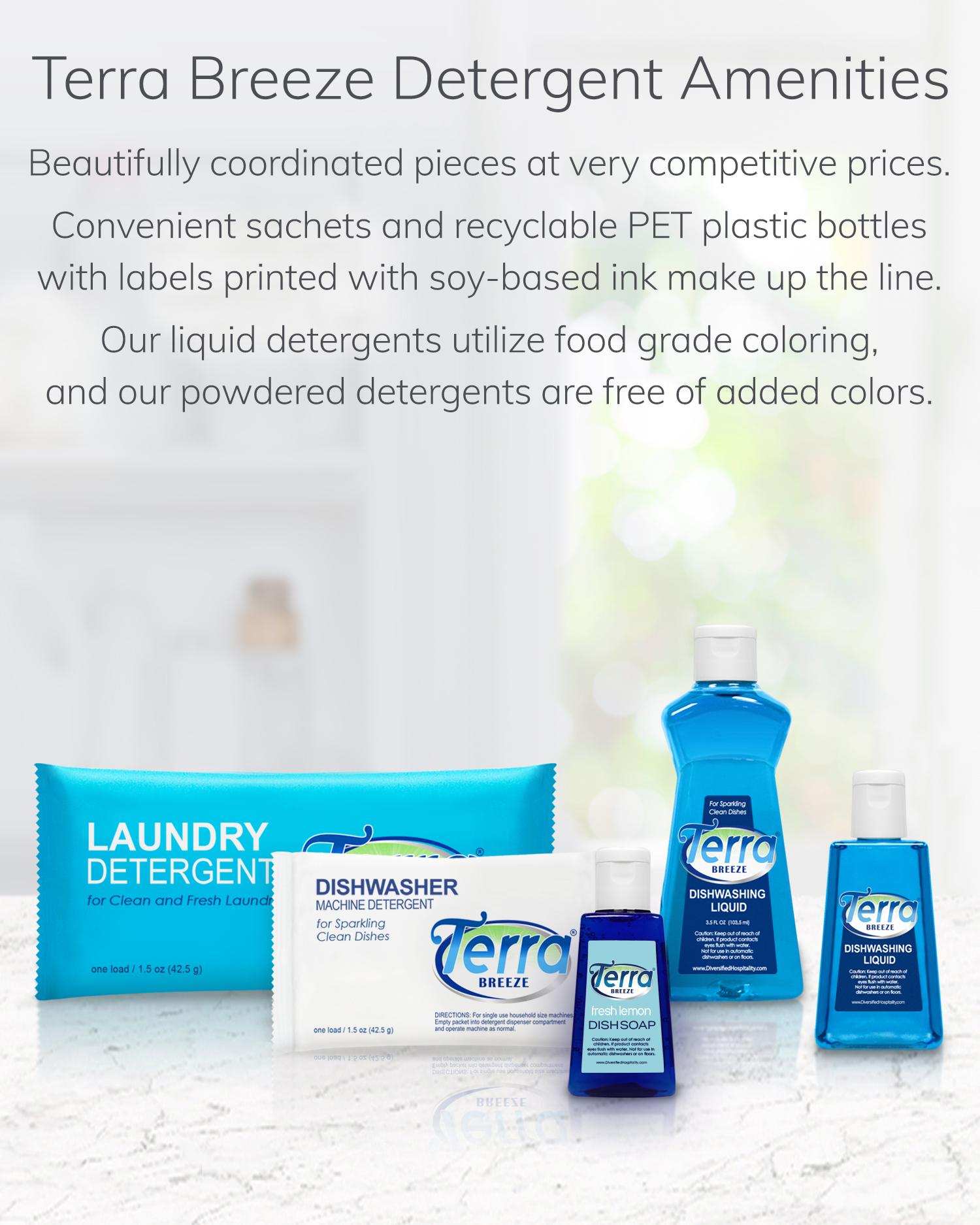 Terra Breeze Detergent Amenities